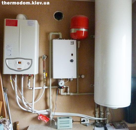 Газовый котел Immergas Eolo Mini 24