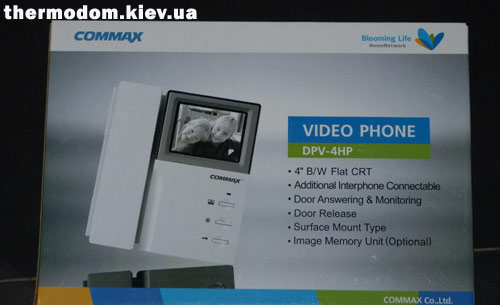 Видеодомофон Комакс